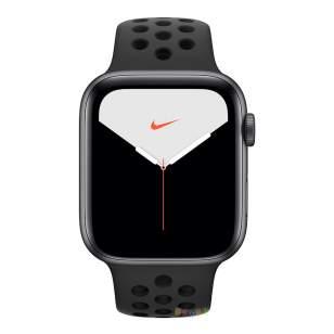 Apple Watch Nike Series 5 44 мм MX3W2 (алюминий черный космос/антрацит)